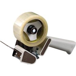 Scotch® Refillable Box Sealing Tape Dispenser With Non-Retractable Blade, Gray