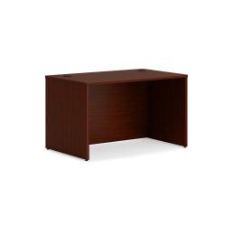 """HON Mod Desk Shell - 48"""" x 30"""" x 29"""" - Finish: Mahogany Laminate"""