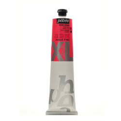 Pebeo Studio XL Oil Paint, 200 mL, Bright Red, Pack Of 2
