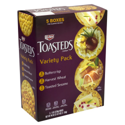 Keebler Toasteds Party Pack Cracker Assortment, 40 Oz