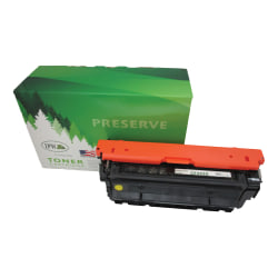 IPW Preserve 545-452-ODP Remanufactured Yellow Toner Cartridge Replacement For HP 655A / CF452A