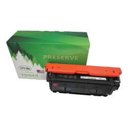 IPW Preserve 545-453-ODP Remanufactured Magenta Toner Cartridge Replacement For HP 655A / CF453A
