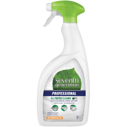 Seventh Generation Professional All-Purpose Cleaner - Spray - 32 fl oz (1 quart) - Free & Clear Scent - 1 Each - Multi