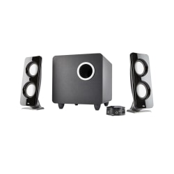 Cyber Acoustics Curve Immersion 2.1 Speaker System, Black