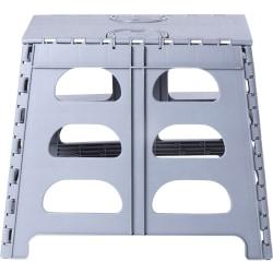 "Range Kleen SS2 Plastic 2-Step Step Stool, 300 Lb Capacity, 17-1/2"", Gray"