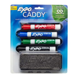 EXPO® 90% Recycled Sidekick Organizer With Markers And Eraser