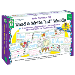 Key Education Write On/Wipe Off Read And Write 1st Words, Grades Pre-K - 1