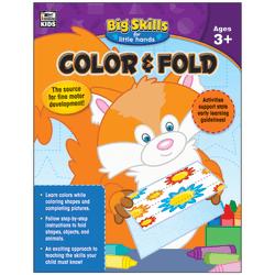 Thinking Kids® Big Skills For Little Hands® Color & Fold Workbook, Grades Pre-K - K