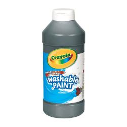 Crayola® Washable Paint, Black, 16 Oz