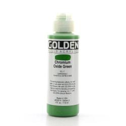 Golden Fluid Acrylic Paint, 4 Oz, Chromium Oxide Green