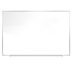 """Mammoth Office Products Magnetic Dry-Erase Whiteboard, 24"""" x 36"""", Metal Frame With Silver Finish"""