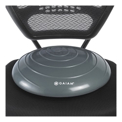 Gaiam Inflatable Balance Disc, Gray