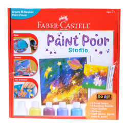 Faber-Castell 34-Piece Do Art Paint Pour Studio Kit