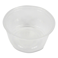 Boardwalk® Soufflé/Portion Cups, 2 Oz, Clear, Pack Of 2,500 Cups