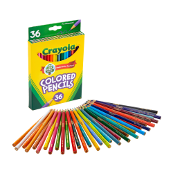 Crayola® Color Pencils, Set Of 36 Colors