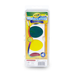 Crayola® So Big™ Washable Watercolor Set, Set Of 4 Colors