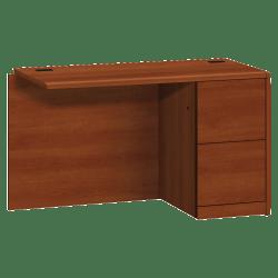 HON® 10700 Series Laminate Right Return, File/File, Cognac