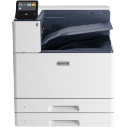 Xerox VersaLink C8000 C8000/DT Laser Printer - Color - 45 ppm Mono / 45 ppm Color - 1200 x 2400 dpi Print - Automatic Duplex Print - 1140 Sheets Input - Gigabit Ethernet - Google Cloud Print, Apple AirPrint, Xerox Mobile Print, Mopria, Wi-Fi Direct