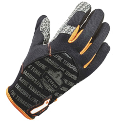 Ergodyne ProFlex 821 Smooth-Surface Silicone Handling Gloves, XX-Large, Black