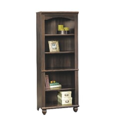 Sauder® Harbor View 5-Shelf Bookcase, Antique Paint