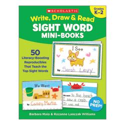 Scholastic Write, Draw & Read Sight Word Reproducible Mini-Book, Kindergarten To 2nd Grade
