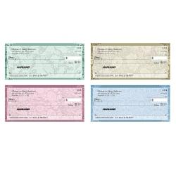 """Personal Wallet Checks, 6"""" x 2 3/4"""", Duplicates, Romance, Box Of 150"""