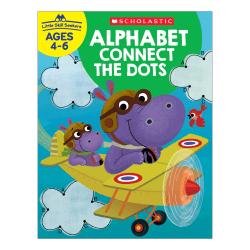Scholastic® Little Skill Seekers: Alphabet Connect The Dots Workbook, Kindergarten - Grade 2