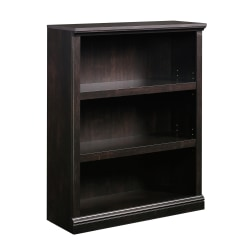 Sauder® Select Bookcase, 3 Shelf, Estate Black