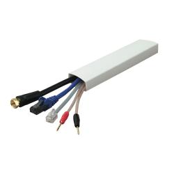 Belkin® Hideaway Cord Concealer, White, F8B015Q