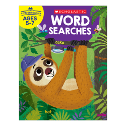 Scholastic® Little Skill Seekers: Word Searches Activity Book, Pre-K To Kindergarten