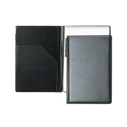 "SKILCRAFT® Steno Pad Holder, 6"" x 9"", Black (AbilityOne 7510-01-454-7388)"