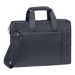 "Rivacase 8221 Laptop Bag With 13.3"" Laptop Pocket, Black"
