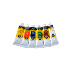 Winsor & Newton Galeria Acrylic Color Introductory Set, 60 mL Tubes, Assorted Colors, Set Of 6