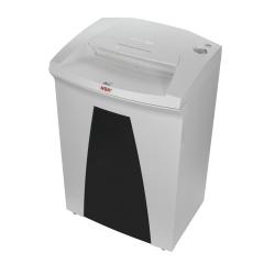 """Securio By HSM B32S 24-Sheet Strip-Cut Shredder, 31-1/4""""H x 19-5/8""""W x 15-3/4""""D,  White"""