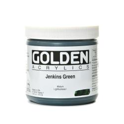 Golden Heavy Body Acrylic Paint, 16 Oz, Jenkins Green