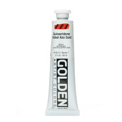 Golden Heavy Body Acrylic Paint, 2 Oz, Quinacridone Nickel Azo Gold
