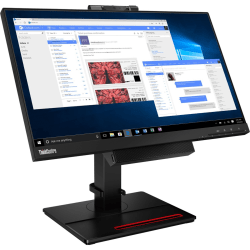 """Lenovo ThinkCentre Tiny-In-One 24 Gen 4 23.8"""" Full HD WLED LCD Monitor - 16:9 - Black - 24"""" Class - In-plane Switching (IPS) Technology - 1920 x 1080 - 16.7 Million Colors - 250 Nit - 4 ms with OD - 60 Hz Refresh Rate - DisplayPort"""