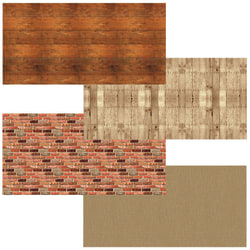 "Pacon® Fadeless Bulletin Board Art Paper, 48"" x 12', Rustic Assortment, Pack Of 4 Rolls"