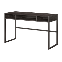 """kathy ireland® Office by Bush Business Furniture Atria 48""""W Console Table, Charcoal Gray, Standard Delivery"""