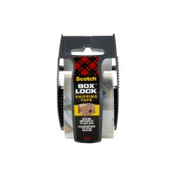 "Scotch® Box Lock 195 Packaging Tape, 1-15/16"" x 22-1/4 Yd, Clear"