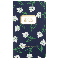 "AT-A-GLANCE® Simplified By Emily Ley 2-Year Dogwood Academic Monthly Planner, 3-1/2"" x 6"", Multicolor, July 2021 To June 2023, EL61-021A"