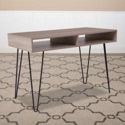 "Flash Furniture 43-1/4""W Computer Table, Oak"