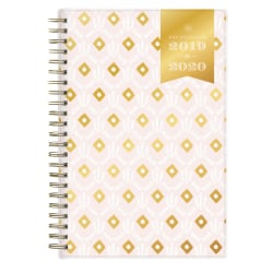 "Day Designer Academic Weekly/Monthly Planner, 5"" x 8"", Sweet Geo, July 2019 - June 2020"