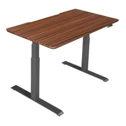 "Vari Electric Standing Desk, 48""W, Darkwood"