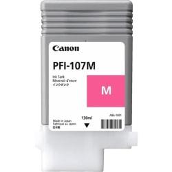 Canon PFI-107 M - 130 ml - magenta - original - ink tank - for imagePROGRAF iPF670, iPF680, iPF685, iPF770, iPF780, iPF785