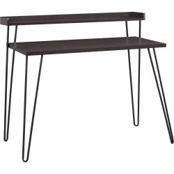 Ameriwood™ Home Haven Retro Desk With Riser, Espresso