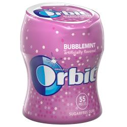 Orbit® Bubblemint Gum Bottles, 2.70 Oz