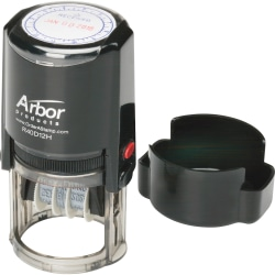 SKILCRAFT® Self-Inking Received Time/Date Stamp (AbilityOne 7520-01-207-4188)