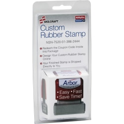 SKILCRAFT® Custom Self-Inking Stamp Order Kit