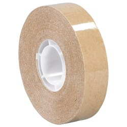 "3M™ 987 Adhesive Transfer Tape, 1"" Core, 0.25"" x 60 Yd., Clear, Case Of 6"